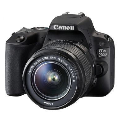 Canon EOS 200D Kit 18-55mm EF-S DC III