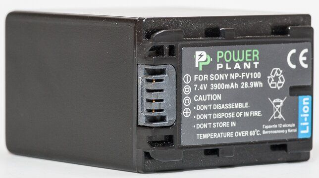 Aккумулятор PowerPlant Sony NP-FV100