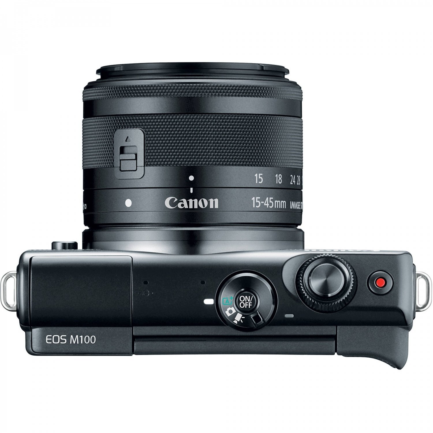 Canon EOS M100 Kit 15-45mm (Black)
